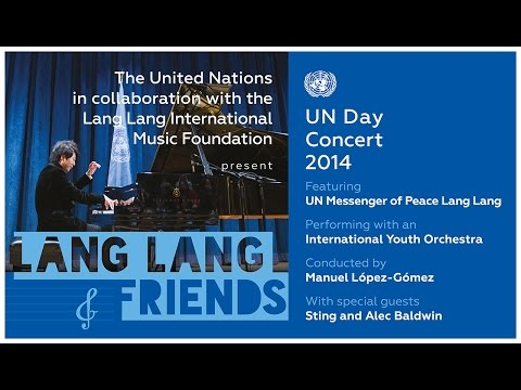 *LIVE* - Live from New York on 24th October at 7:00pm: In celebration of the 69th anniversary of the founding of the United Nations, the 2014 United Nations Day Concert, will feature world renowned-pianist...