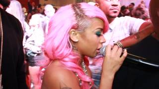 Keyshia Cole Surprise Performs & Abruptly Walks Off Stage! Beyonce Curse? - YouTube