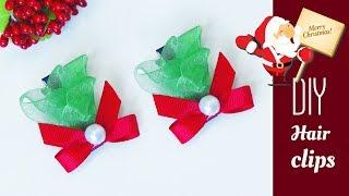 Kreasi Penjepit Rambut Bernuansa Natal