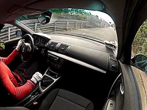 BMW 120D Nurburgring. GoPro onboard (видео)