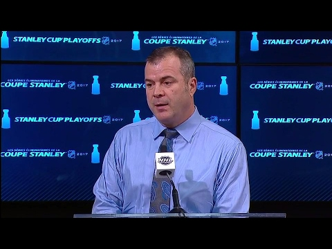 Vigneault: We felt there was icing on Senators' game-winning goal