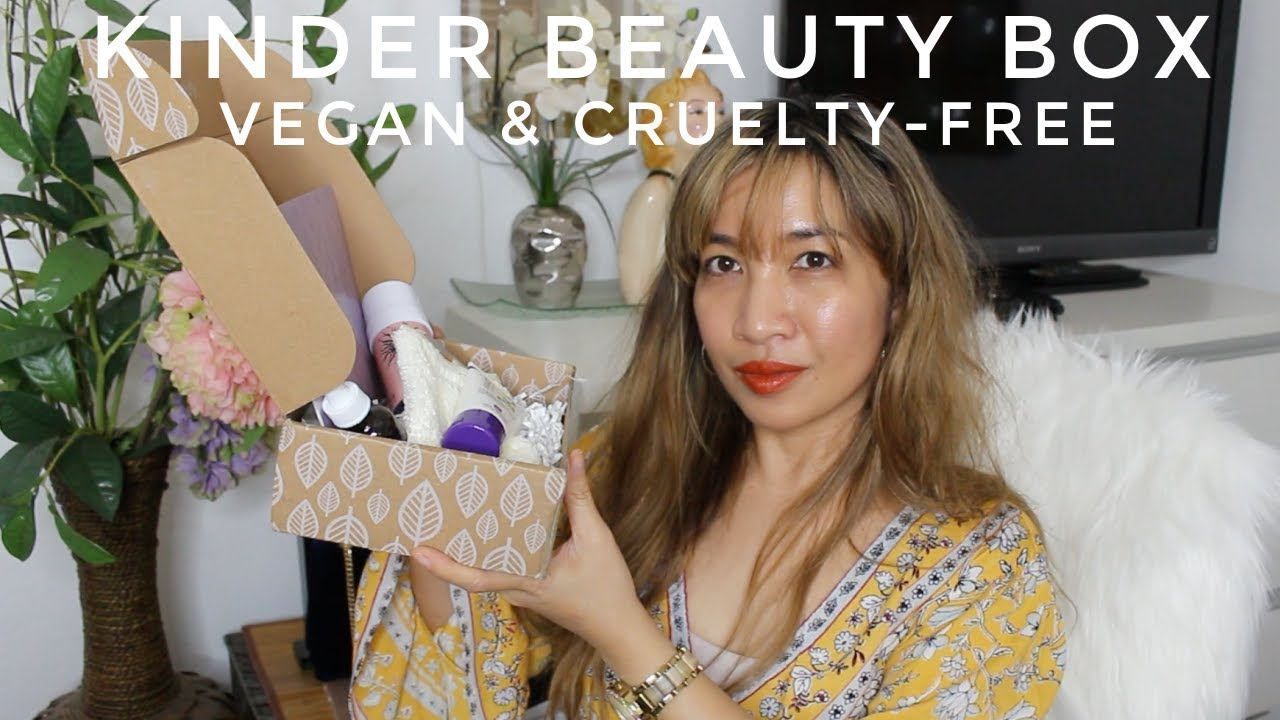 KINDER BEAUTY APRIL BOX | VEGAN & CRUELTY FREE |Thefabzilla