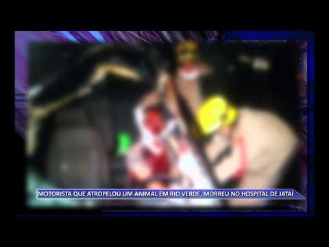 JATAÍ | Motorista atropela bovino, não resiste aos ferimentos e morre no hospital