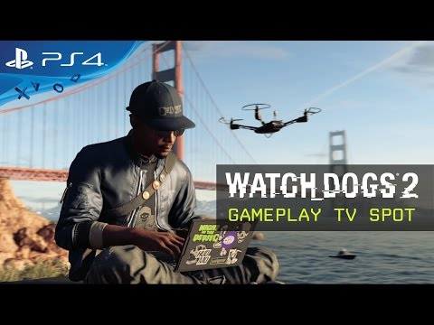 Commercial for Watch Dogs 2 (2016 - present) (Television Commercial)
