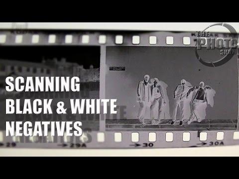 Scanning Black & White Negatives
