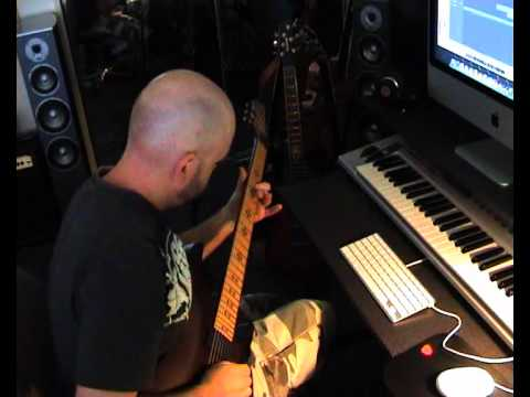UNIVERSUM - Paul Wardingham Guitar online metal music video by UNIVERSUM