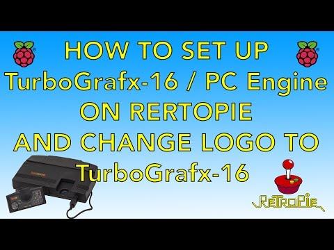 How To Set Up TurboGrafx-16 / PC Engine On Retropie Raspberry pi Includes Logo Change