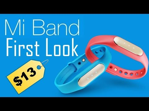 Xiaomi Mi Band: A $13 Fitness Tracker!