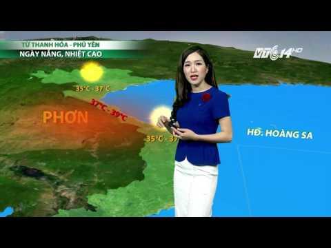 (VTC14)_Thời tiết 6h ngày 11.04.2017