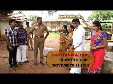 Nadhaswaram 11th November 2014  Watch Online Nadhaswaram Serial  Sun TV Serial  11 11 2014   Episode 1208