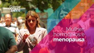 Mulher: relação entre hormônios e menopausa