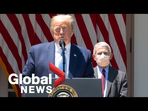 Coronavirus outbreak: Trump announces launch of 'Operation Warp Speed' vaccine task force   FULL