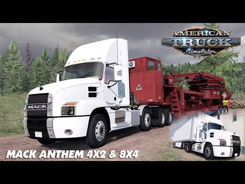 Mack Anthem 4x2 & 8x4 chassis 1.38