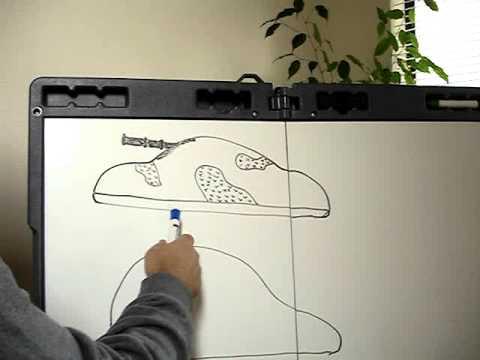 Alien Ground Attack Ship Sketch