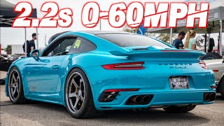 900HP Porsche Turbo 2.2s 0-60MPH Brutal Launch on Backroad (Neck Snapping Acceleration) by  That Racing Channel