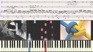 Маликов Дмитрий - Ты и я (Ноты для фортепиано) (piano cover)