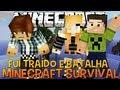 Minecraft Survival Ep.49 - Minha Namorada me Traiu e Batalha Pókemon com Mobs !!
