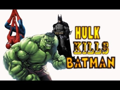 HULK UCCIDE BATMAN - HULK KILLS BATMAN - davidekyo