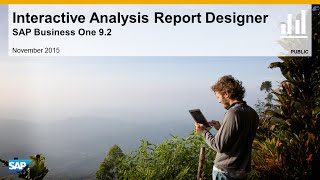 SAP Busines One 9.2 Excell Reports