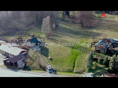 Video Stavební pozemek 6.825 m2 v lyžařském centru - Rokytnici nad Jizerou