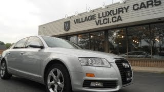 2009 Audi A6 [CVT] In Review - Village Luxury Cars Toronto
