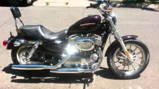 1. Harley Davidson XL 883 Low Sportster 2007