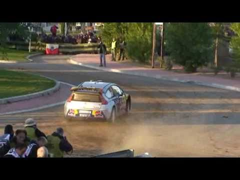 WRC Crash Rally Racc 2010 Cataluña Kimi Raikkonen