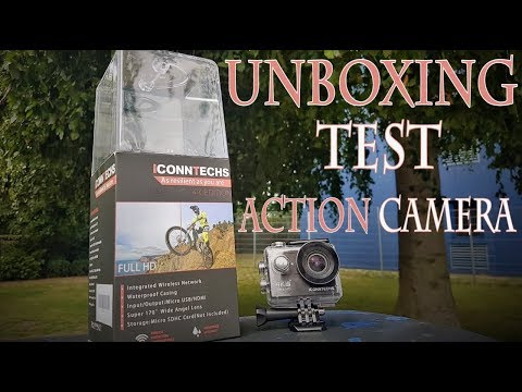 ICONNTECHS IT Action Camera Unboxing-Test Teil 1/2 | HD+ | Deutsch