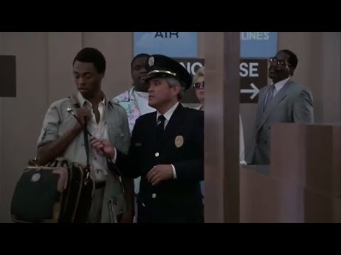 Police Academy 5 (1988): Metal detector scene with Michael Winslow.