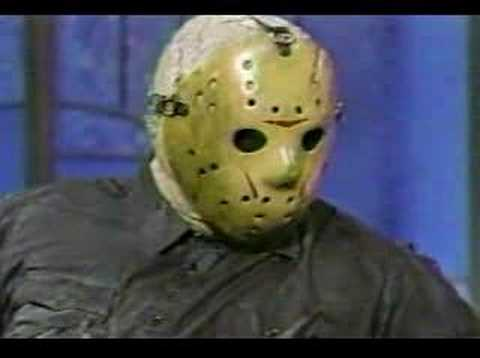 Friday 13th - Jason on the Arsenio Hall Show promoting Friday the 13th Part 8.