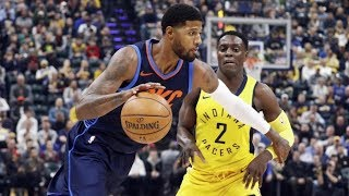 Paul George Booed in Return to Indiana! Westbrook Triple Double! 2017-18 Season