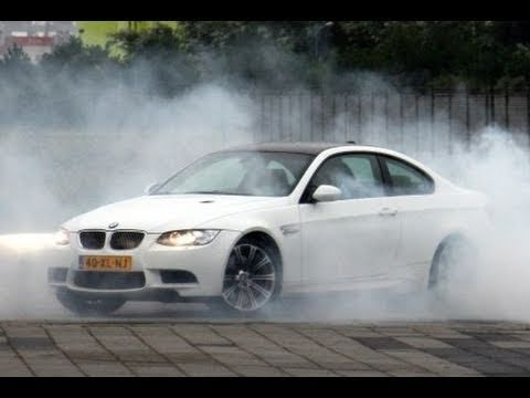 Awesome BMW M3 Coupe test drive on Autobahn