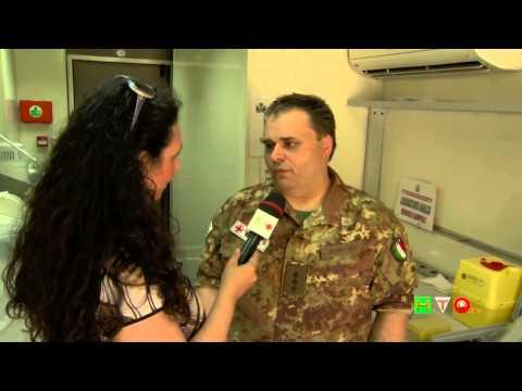 Corpo Militare della Croce Rossa Italiana - Intervista al Cap. Medico Fabio Romitelli - www.HTO.tv