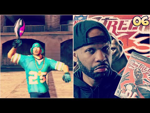 NFL STREET 3 WALKTHROUGH GAMEPLAY PART 6 – RESPECT THE STREET MODE – WTF HE JUMPED OVER ME!