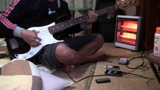 Bondan & Fade 2 Black - Tetap Semangat (bass cover) HQ