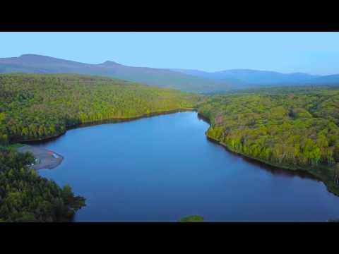 North South Lake in Catskill Park, NY