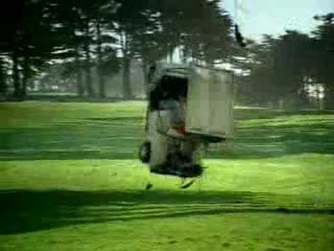 Diet Mountain Dew Golf Cart Ad