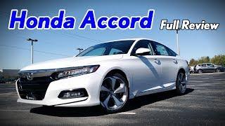 10. 2018 Honda Accord: Full Review | Touring, Sport, EX-L, EX & LX