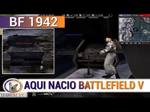 BATTLEFIELD 1942 La Inspiracion de BFV TELEMARK DLC Armas Secretas WW2 (видео)