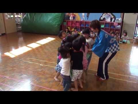 三方保育園夏祭りごっこ(2013.8.28)