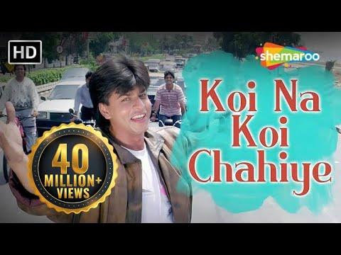 Koi Na Koi Chahiye Pyar Karne Wala (HD)   Deewana Song   Shahrukh Khan   Filmigaane