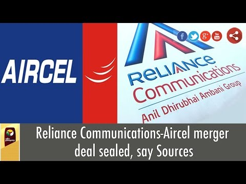 Reliance-Communications-Aircel-merger-deal-sealed--Details