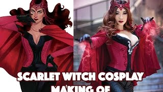 VIDEO: Process for Transforming into the SCARLET WITCH