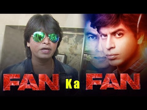 Shahrukh Khan's Duplicate Promotes FAN Movie