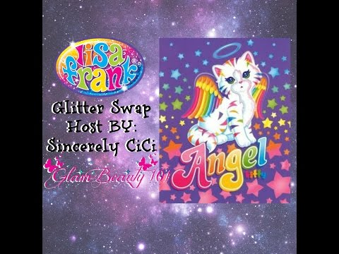 ANGEL KITTY *LISA FRANK GLITTER SWAP* {HOST BY: SINCERELY CICI}