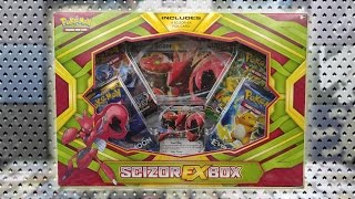 Opening a Scizor EX Box of Pokemon Cards! by The Pokémon Evolutionaries