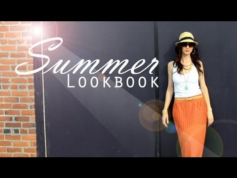 Summer 2012 Lookbook and Outfit Ideas