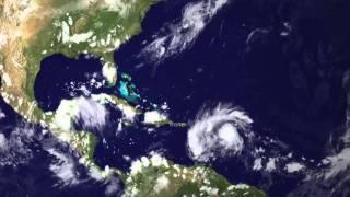 Hurricane Irene Strikes Puerto Rico, Eyes U.S. Coastline