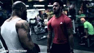 Back workout-
