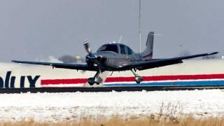 PH-ONK | Door Opened Inflight | With ATC | Cirrus SR-22T Landing/Takeoff @ EHBK